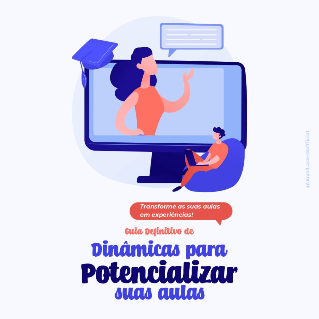 Capa do Guia Definitivo de Dinâmicas para Potencializar as suas Aulas